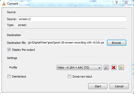 How to Record Desktop Screen With VLC Player