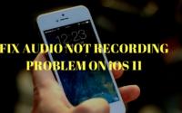 Fix Screen Recording Audio Problem
