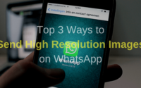 Send High Resolution Images on WhatsApp