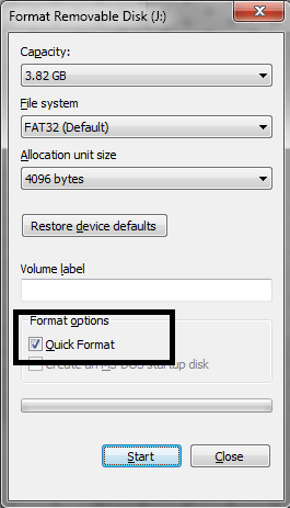 Reformat external hard drive without losing data